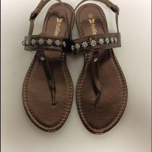 Follies Sandals Size 10